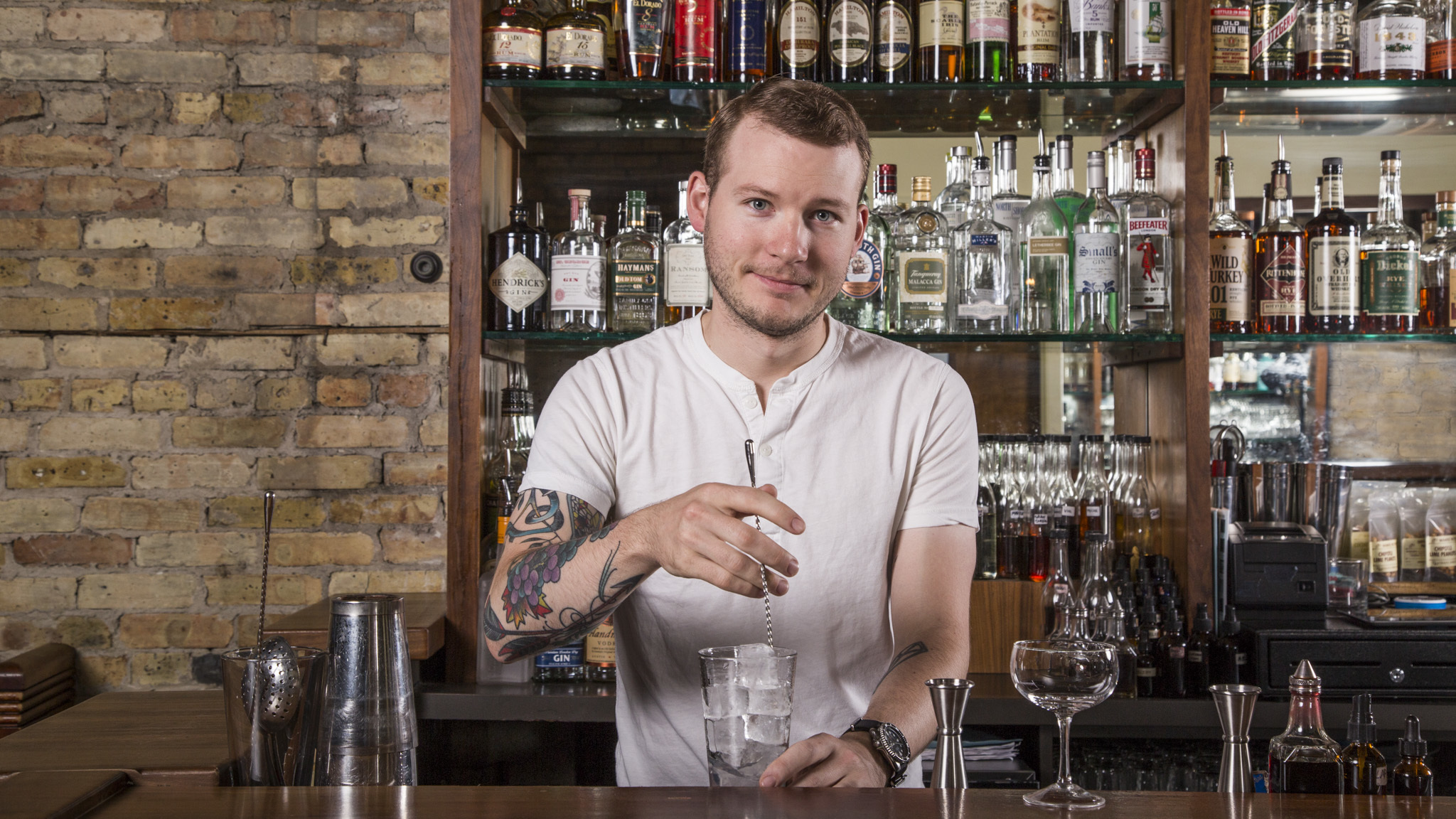 Know Your Bartender: Luke Andrews at the Whistler