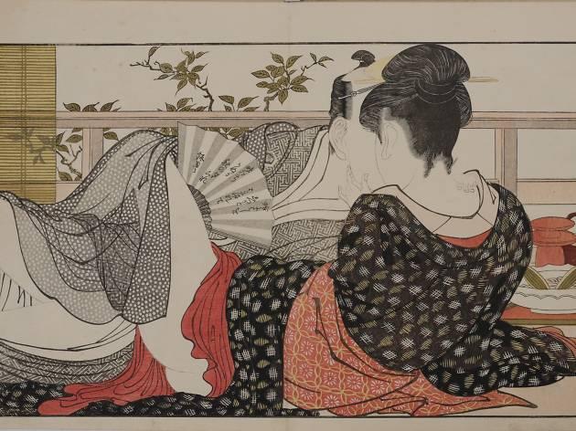 Shunga by Kitagawa Utamaro
