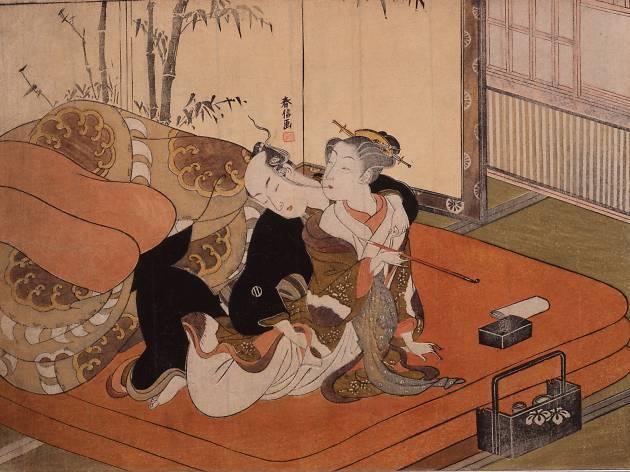春画の芸術様式の歴史と、永青文庫での展示を考察する。