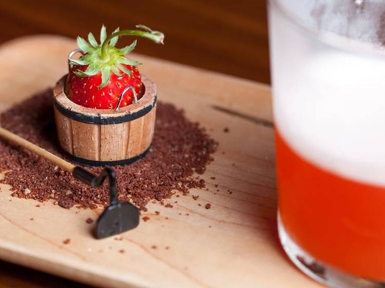 Most creative drinks list: The Walker Inn