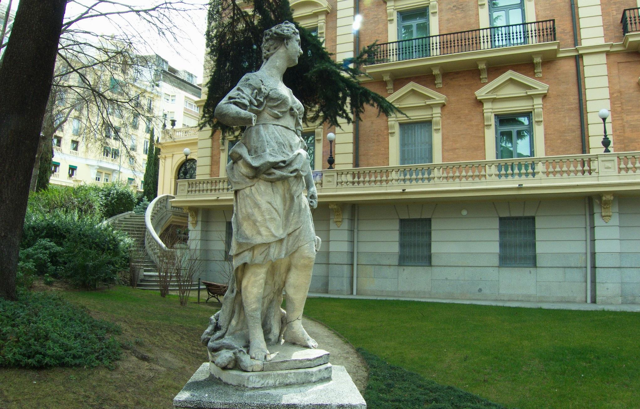 Jardines del Museo Lázaro Galdiano