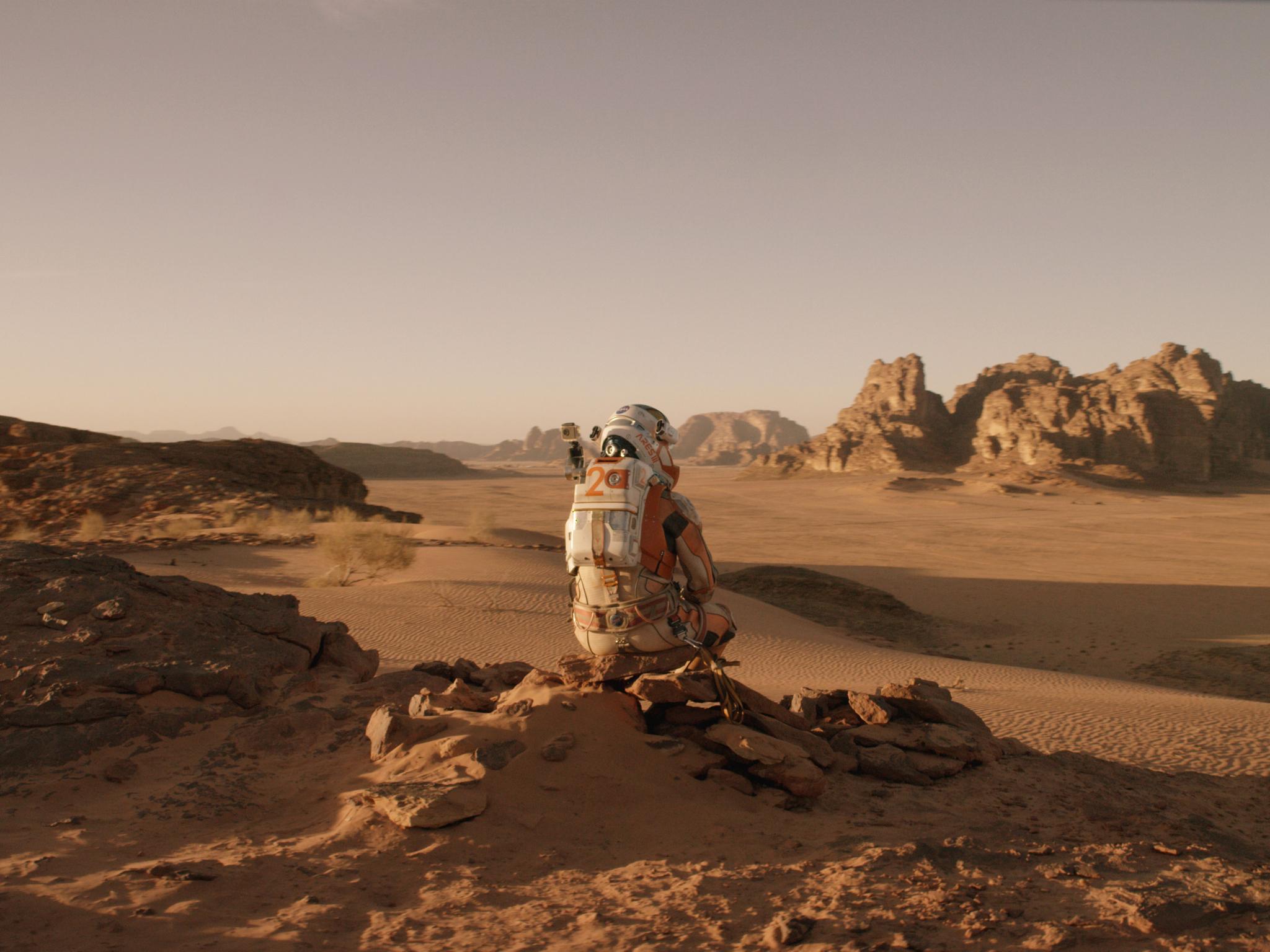 The Martian starring Matt Damon