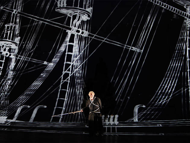 "Jay Hunter Morris in a 2013 San Francisco Opera performance of ""Moby-Dick."""