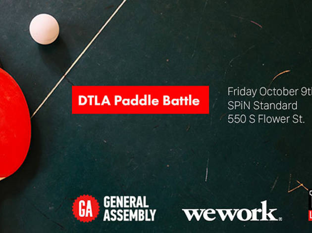 DTLA Paddle Battle