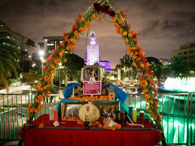 noche de ofrenda things to do in los angeles