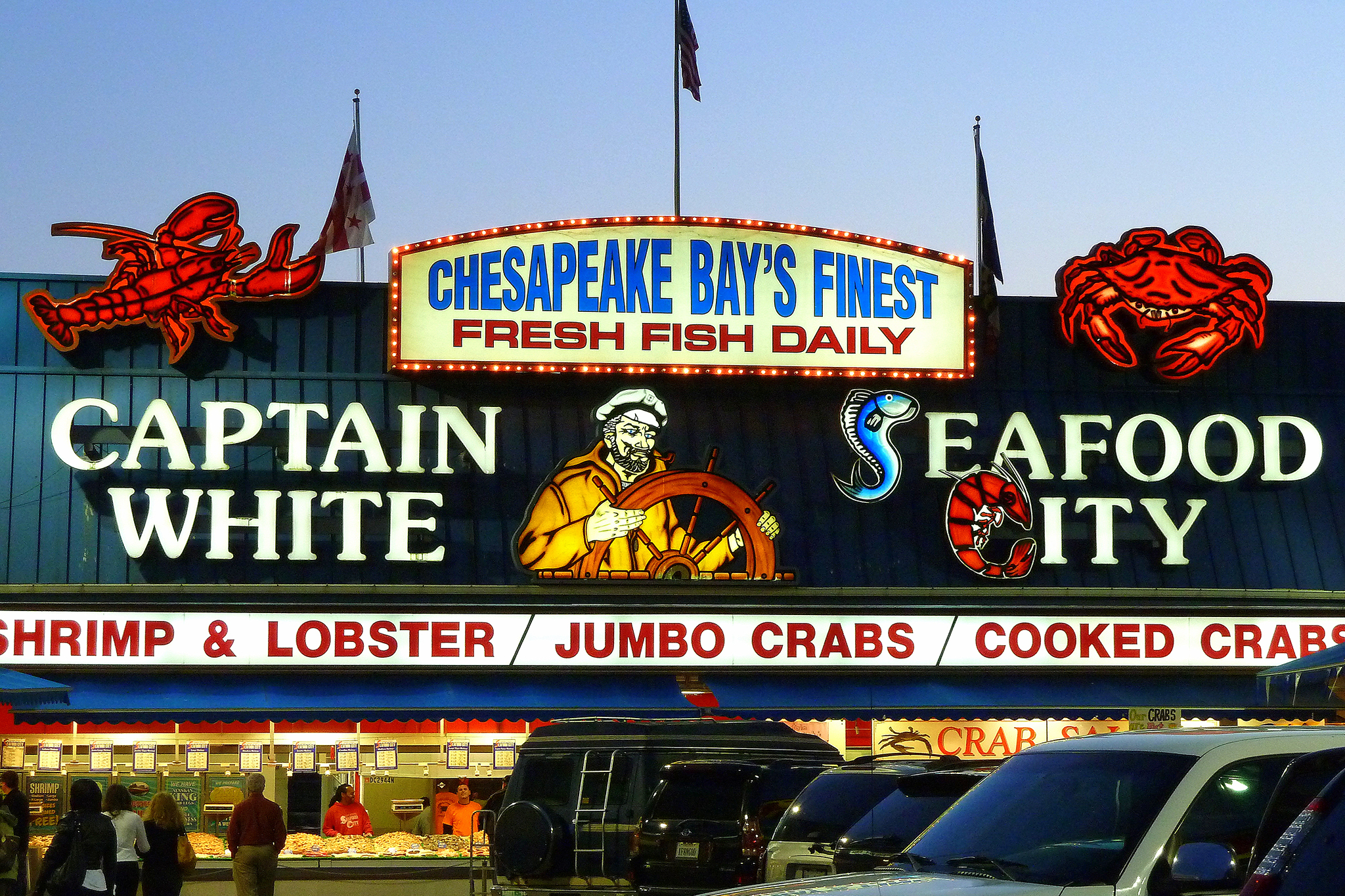Captain White Seafood City