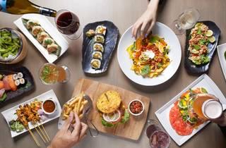 Aqua restaurant & Bar Happy Hours