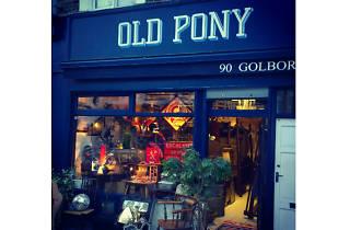 Old Pony, bricabrac shop, Westbourne Park
