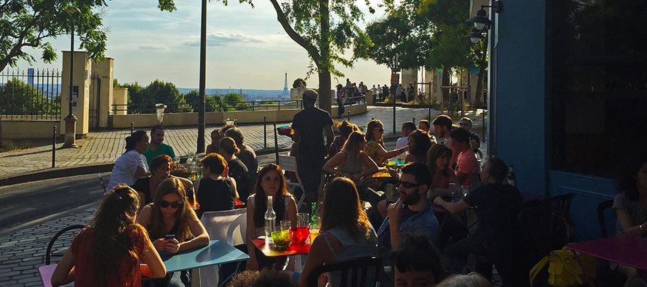 Prendre un verre au Moncoeur Belleville, l'une des plus belles vues de Paris