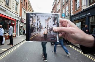 '(What's the Story) Morning Glory?' on Berwick Street, Soho