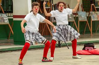 Clowntraste en el Dolores Olmedo