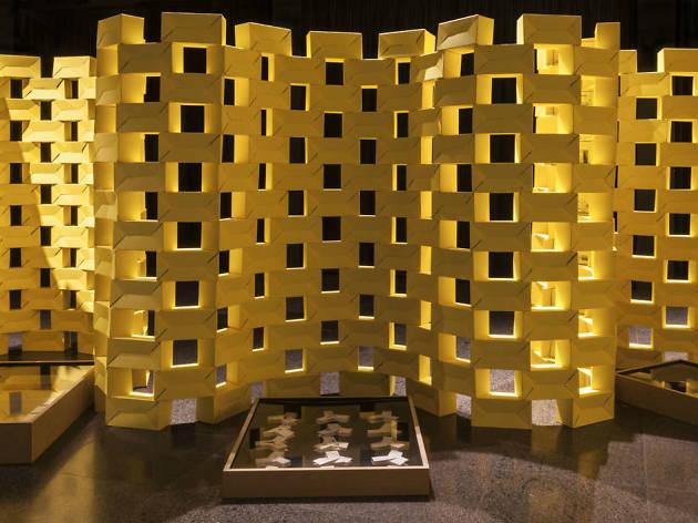 600 tabiques amarillos es una exposición de cadaval & sola-morales