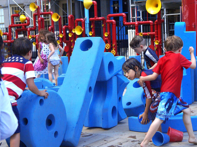 The best playgrounds with famous artwork in NYC