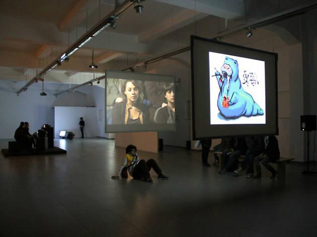 Festival tránsito, video arte e instalación en el CENART