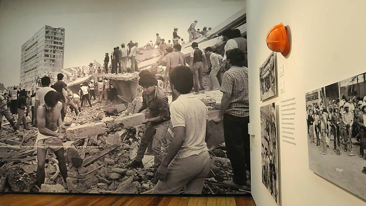 A 30 años del sismo, museo de la ciudad de méxico