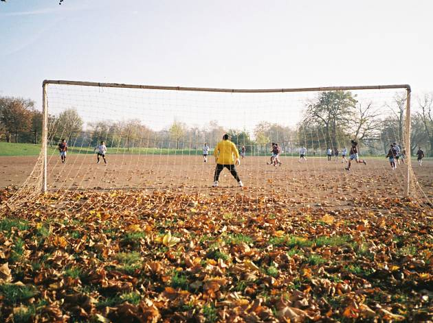 Clapham Common kickabout