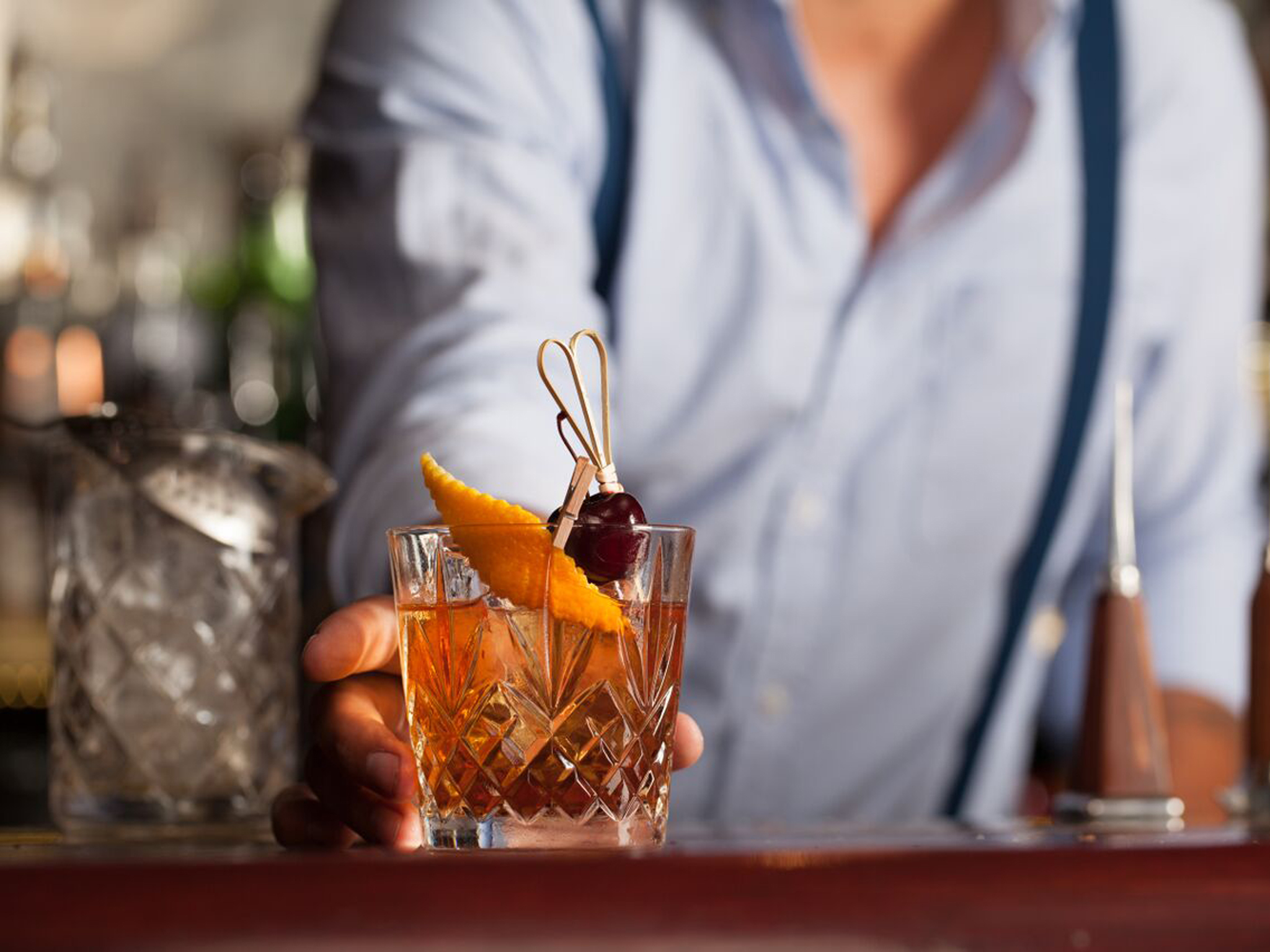 Bottoms up! It's your favourite old fashioneds in London