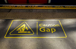TfL has come up with an alternative 'mind the gap' warning