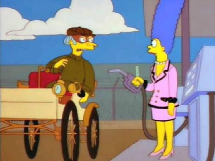 """El pilón: """"Lucha de clases"""" (Los Simpson)"""