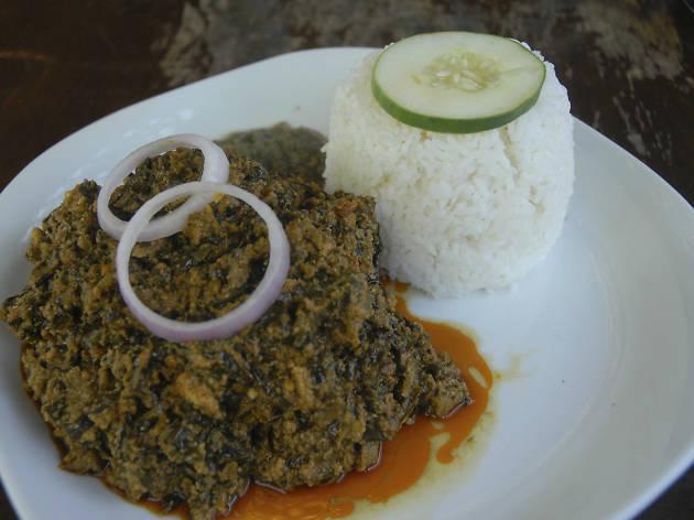 Buka Restaurant, Accra, Ghana