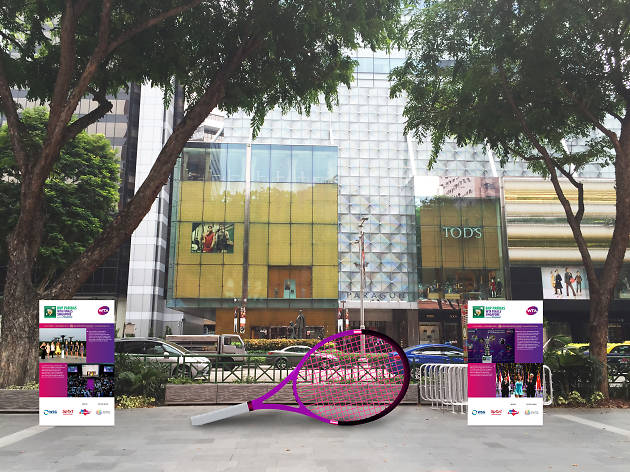 Orchard Road activation