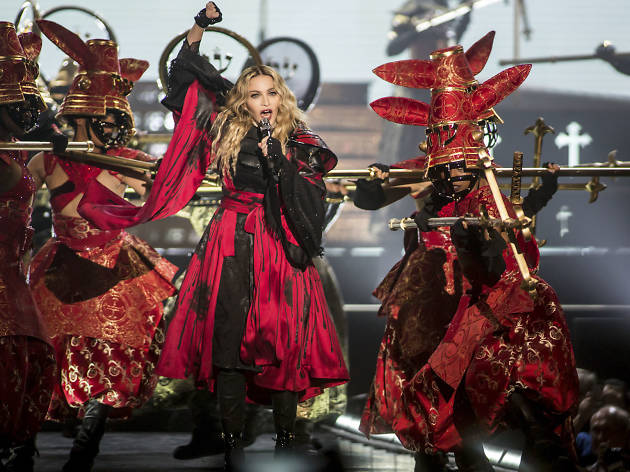 Madonna at United Center