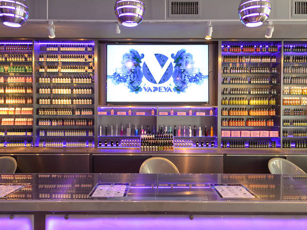 Check out photos of Vapeya, the Lower East Side's new vape lounge