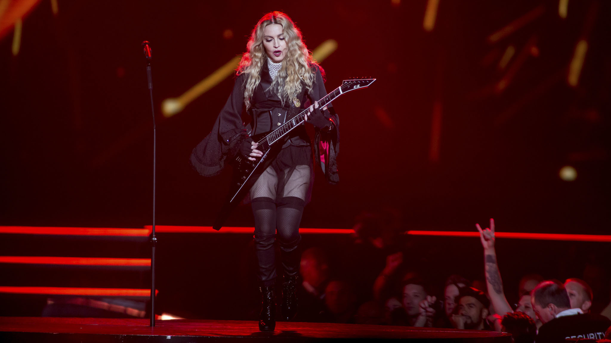 Madonna brought her Rebel Heart tour to the United Center on September 28, 2015.
