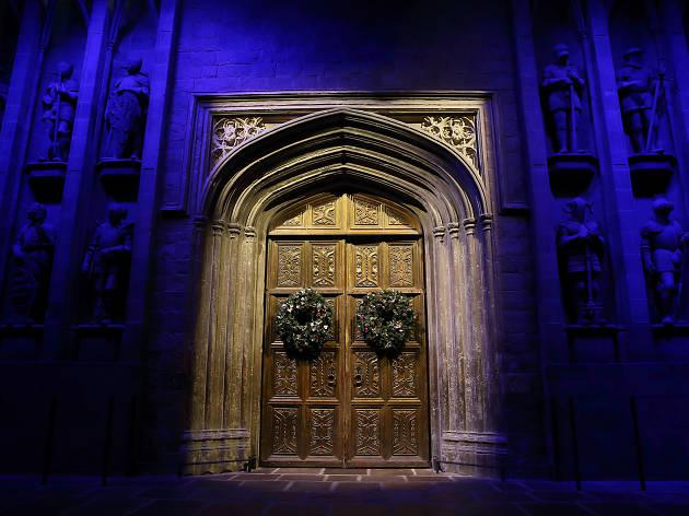 harry potter dinner hogwarts great hall