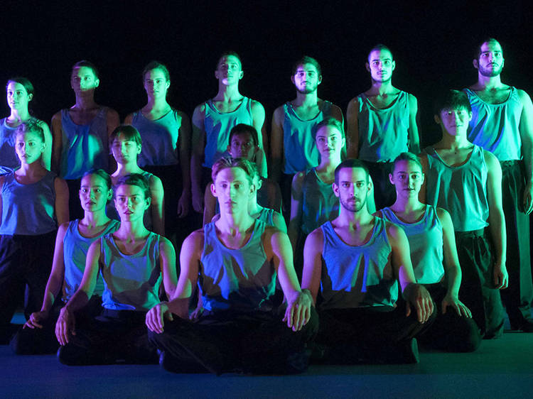 Let your heart leap at these images of Batsheva's Young Ensemble in Decadance
