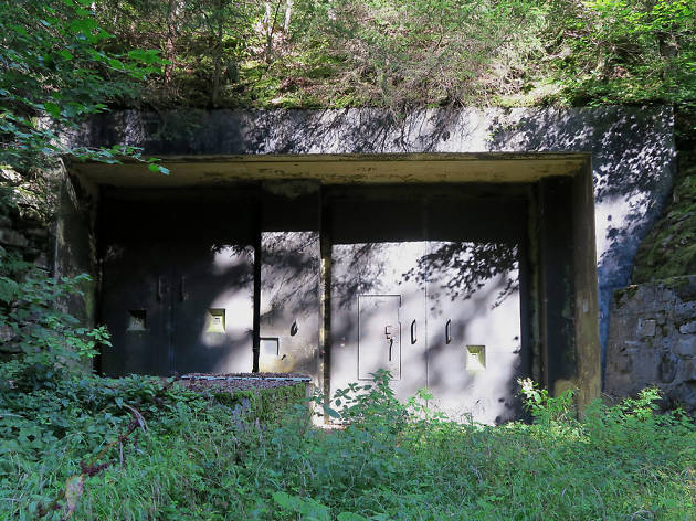 Decommissioned bunkers