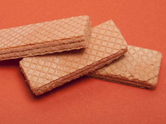 The best biscuits ranked, pink wafer