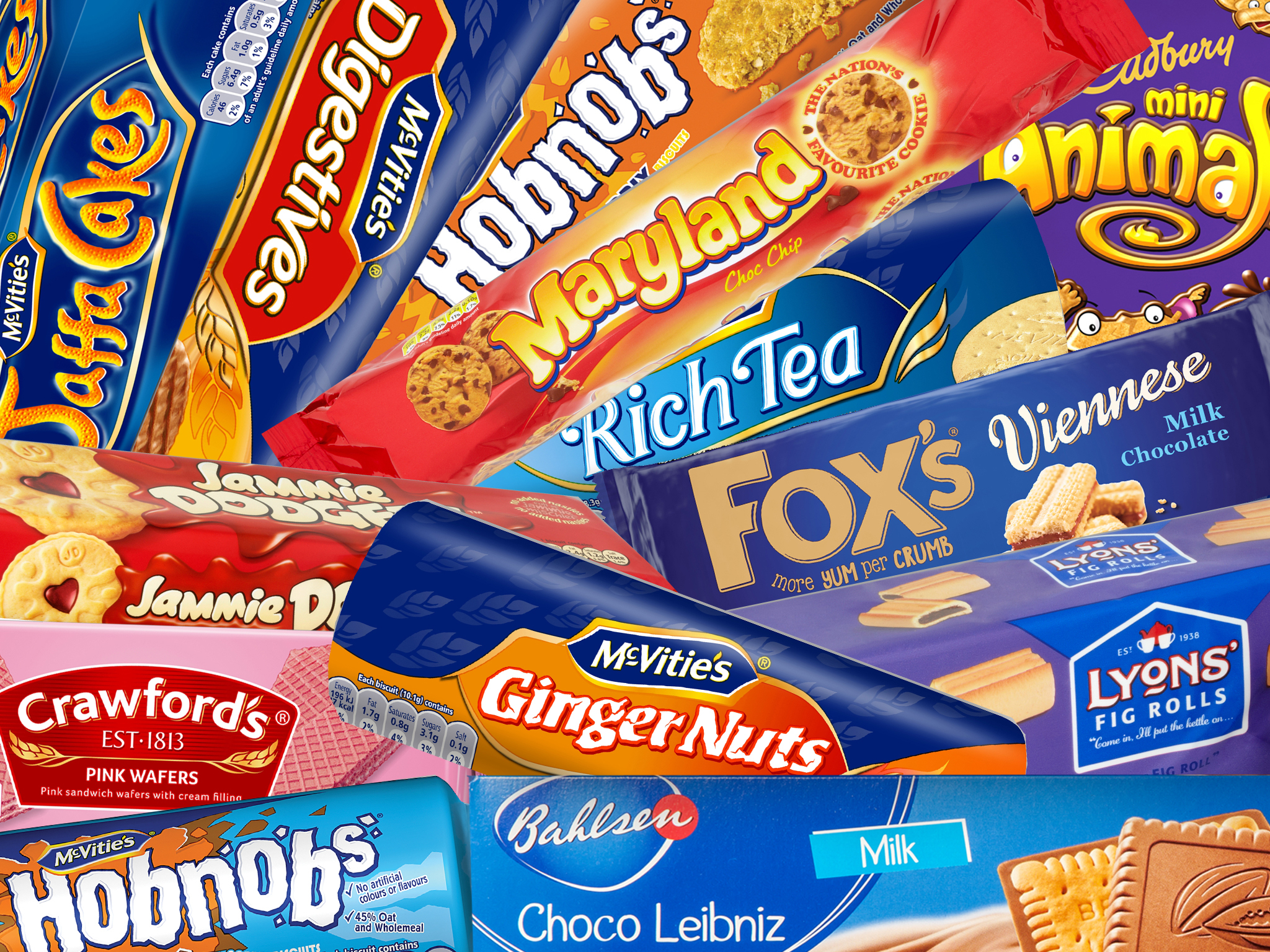 27 retro biscuits ranked worst to best