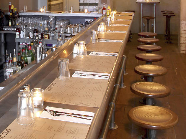 Counter dining in London, Spuntino