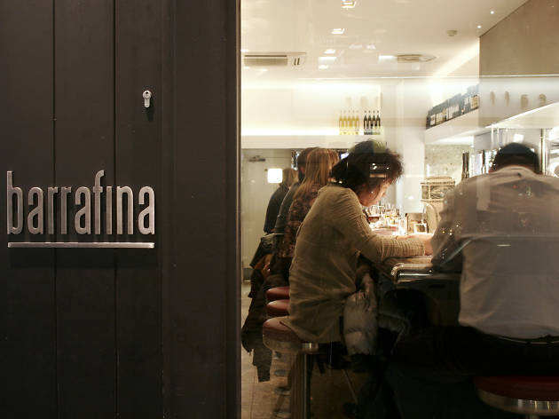 Counter dining in London