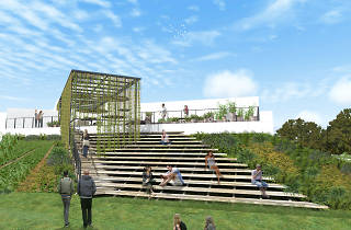 design week méxico presenta un pabellón para cultivo