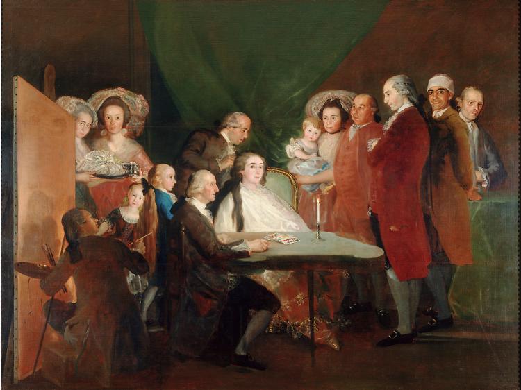 'The Family of the Infante Don Luis de Borbón', 1783-84