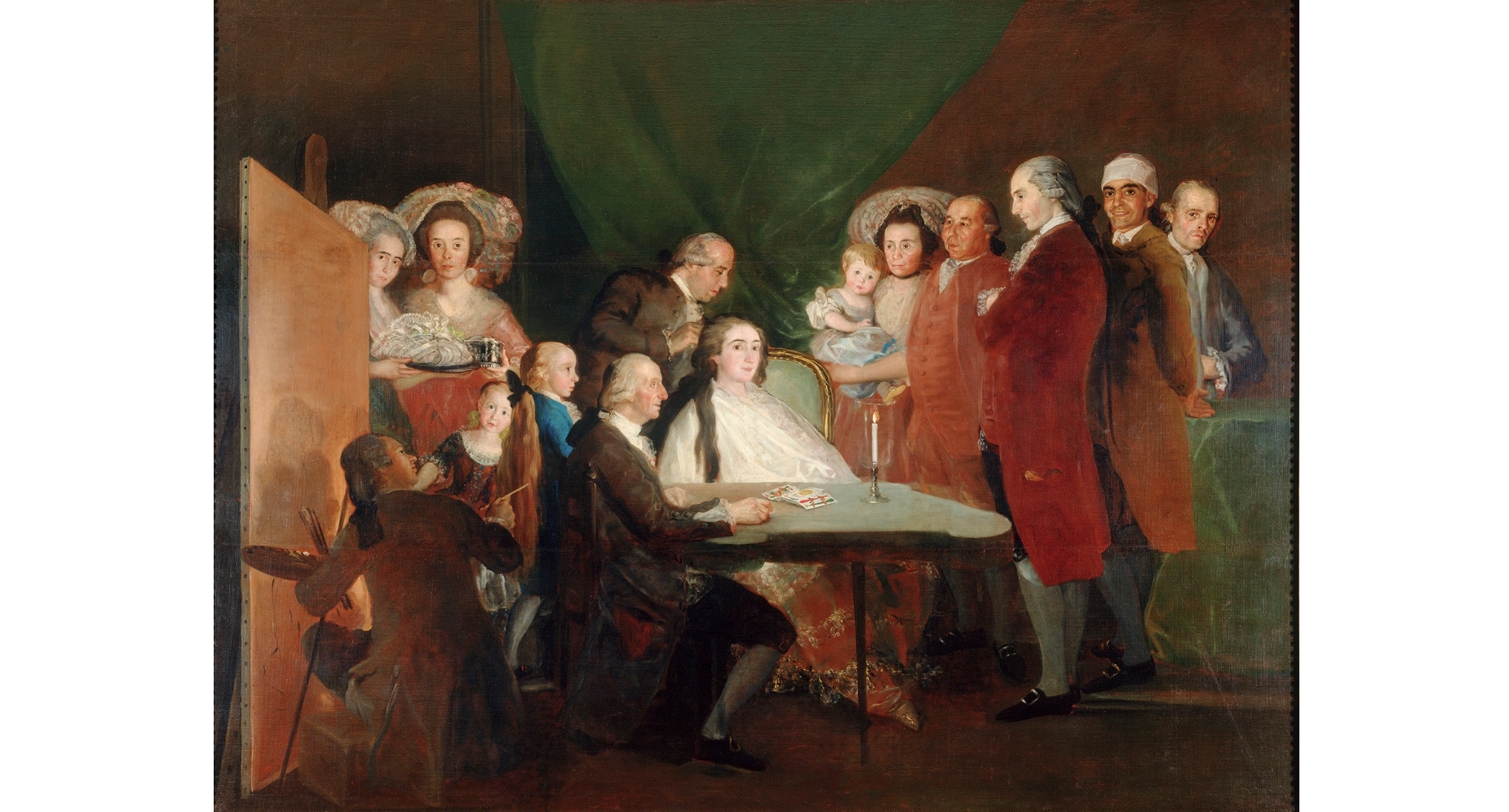 'The Family of the Infante Don Luis de Borbón', 1783-84