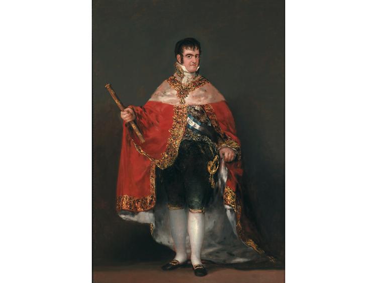 'Ferdinand VII in Court Dress', 1814-15