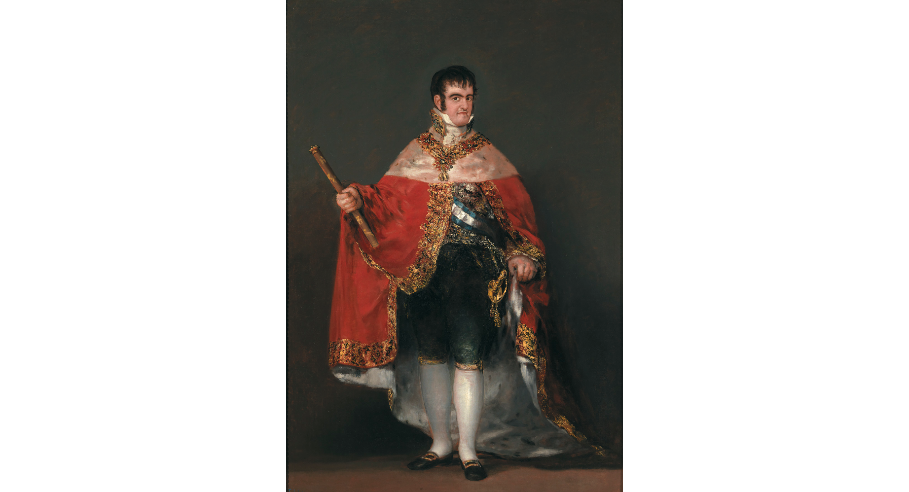 'Ferdinand VII in Court Dress', 1814-15