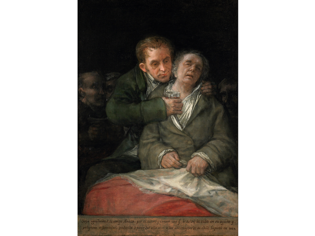 'Self Portrait with Doctor Arrieta', 1820