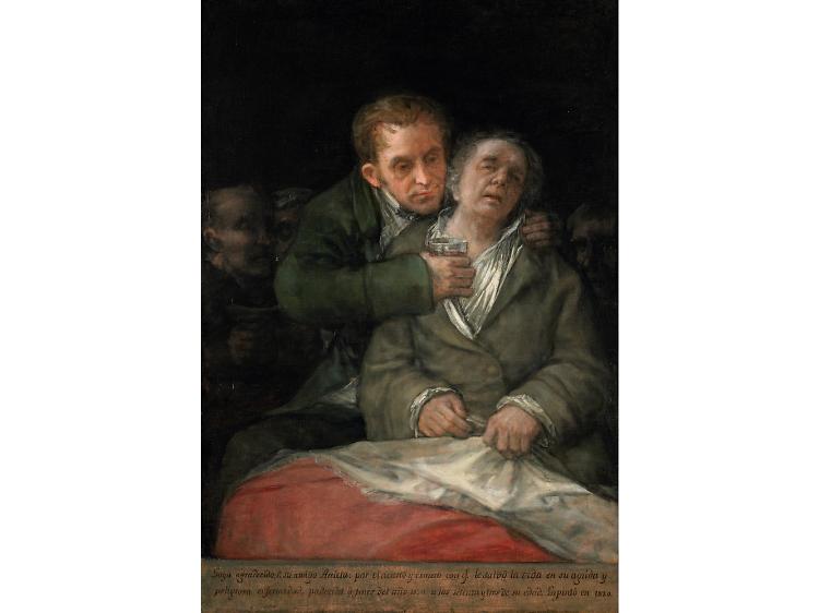 'Self Portrait with Doctor Arrieta', 1820