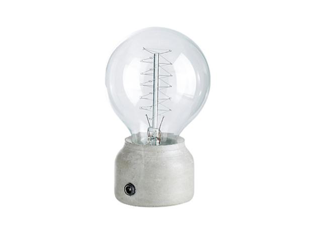 Spiral desk lamp, £50