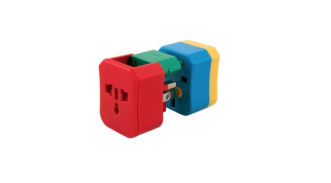 4-in-1 plug adaptor, £23