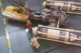 LEGO Star Wars: el despertar de las piezas