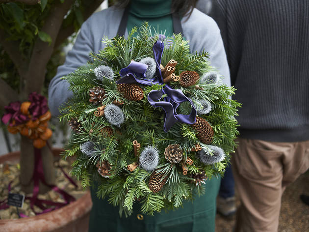Chelsea Wreath from the Physic Garden Christmas Fair