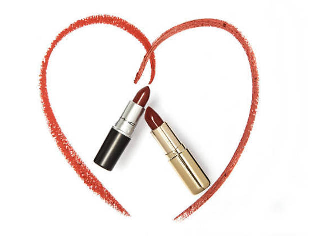 The '90s red lipstick