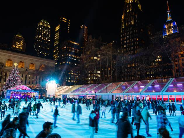 Bank of America Winter Village at Bryant Park Rink