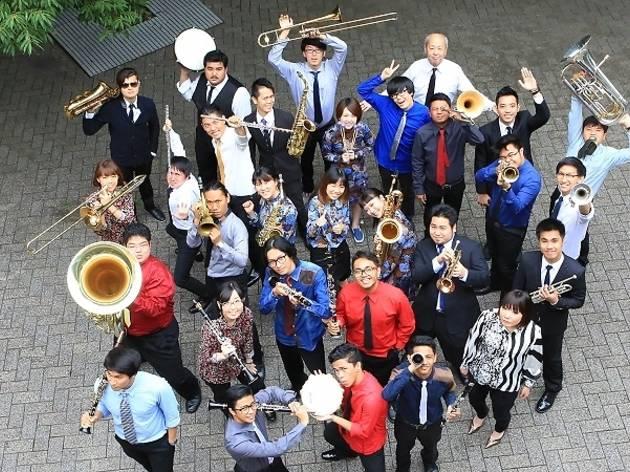 Asian Youth Jazz Orchestra ASEAN Tour 2015