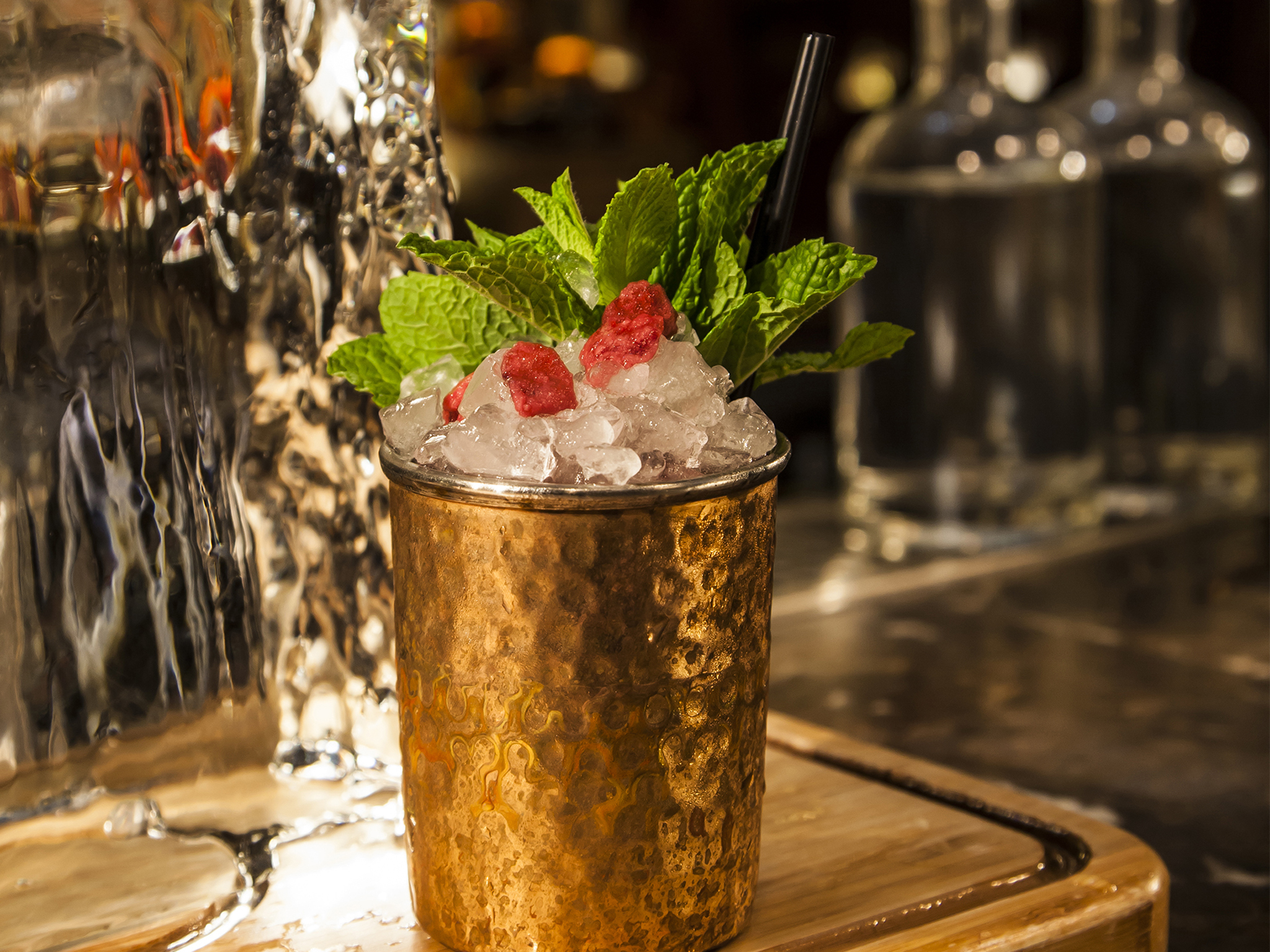London's signature cocktails, dishoom permit room, edwina's affair